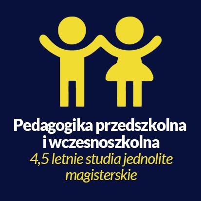 pedagogika przedszkolna i wczesnoszkolna studia