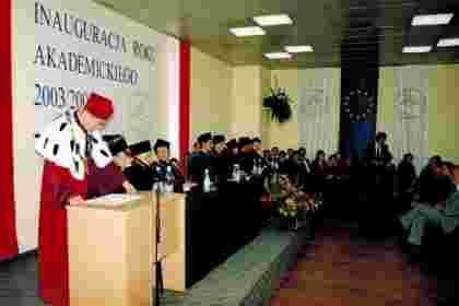 Inauguracja roku akademickiego dawniej